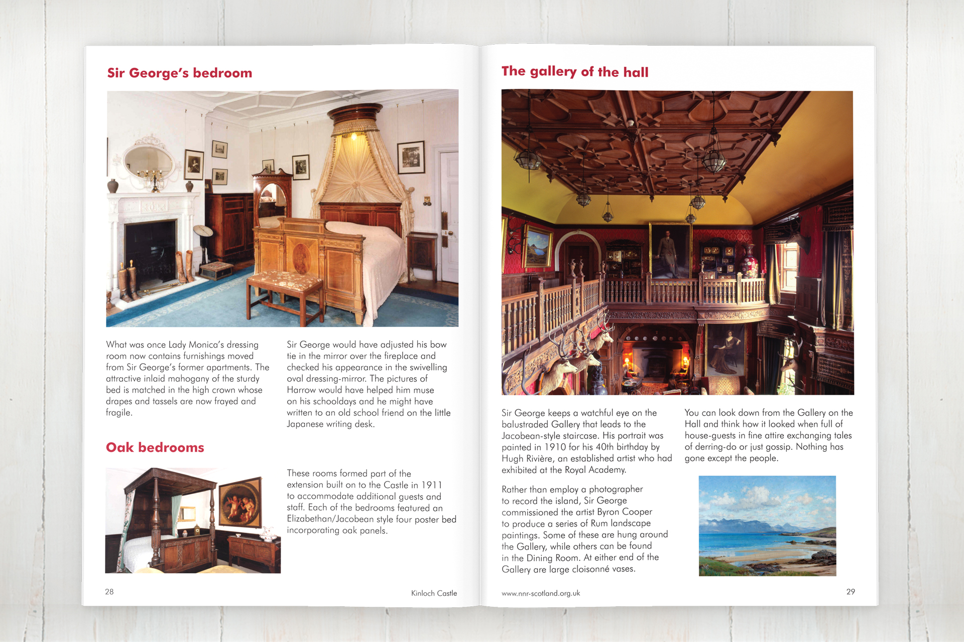 Kinloch Castle visitors guide