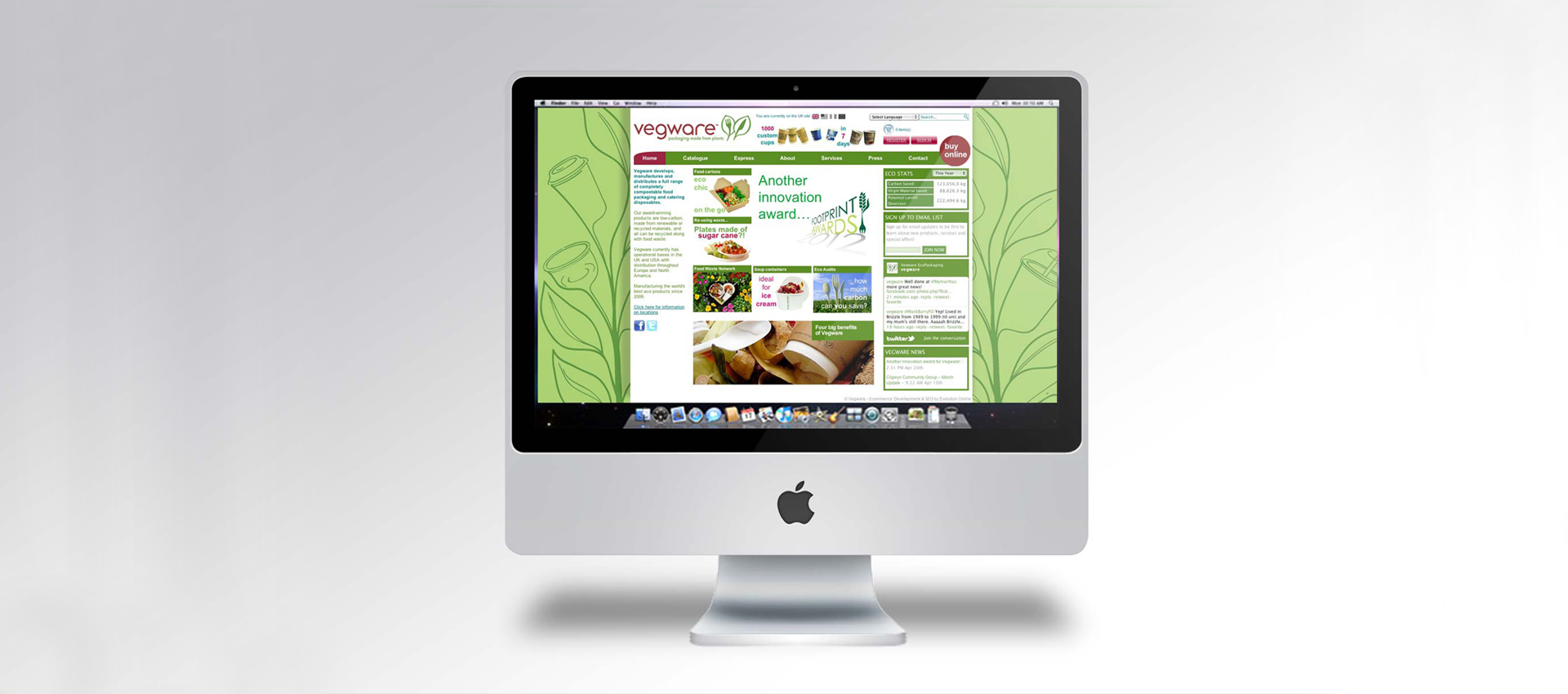 Vegware website
